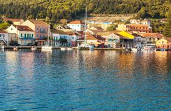 Greece town Stock Images