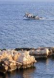 Greece - Traditional fishing boat stock photo