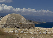 Beautiful showplace in Crete Stock Image