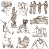 Greece royalty free illustration