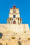 Greece trip 2015, Rhodos island, ancient part of Rhodes city Royalty Free Stock Image