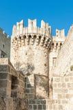 Greece trip 2015, Rhodos island, ancient part of Rhodes city Stock Photos