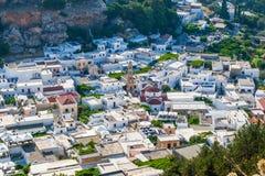 Greece trip 2015, Rhodos island, Lindos Stock Images