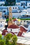 Greece trip 2015, Rhodos island, Lindos Royalty Free Stock Image