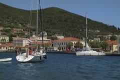 Greece, Vathi Royalty Free Stock Photos