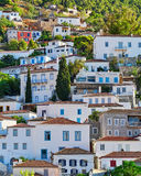 Greece, view of Hydra island town Stock Photography