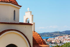 Greece village Royalty Free Stock Photos