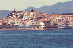 Greece village Royalty Free Stock Photography