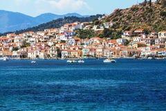 Greece village Stock Photography