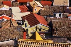 Greece village Stock Image
