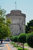 North Greece, the white tower royalty free stock photos