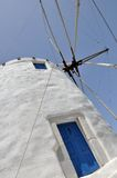 Greece wind mill Royalty Free Stock Photos