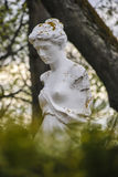 Greece woman statue Royalty Free Stock Photo