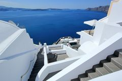 greece wysp santorini Fotografia Royalty Free