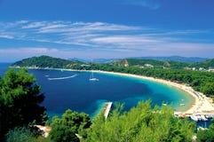 greece wysp skiathos sporades Zdjęcia Royalty Free