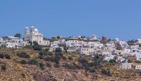 greece wyspy milos tripiti widok wioska Zdjęcie Stock