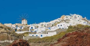 greece wyspy Oia santorini wioska Obrazy Stock