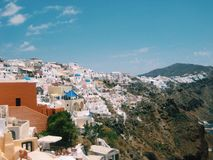 greece wyspy santorini Obrazy Stock