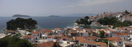 greece wyspy skyatos Fotografia Stock
