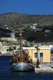 greece wyspy syros Fotografia Royalty Free