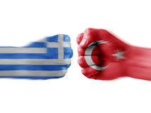 Greece x eu Stock Photo