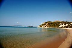 Greece Zakynthos beach nature Royalty Free Stock Photo