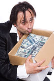 The  greed Royalty Free Stock Images