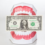 Greed concept Stock Photography