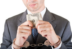 Greedness do gerente Foto de Stock Royalty Free