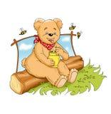 Greedy bear Stock Images