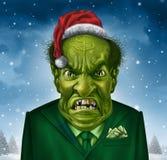 Greedy Holiday Boss Royalty Free Stock Photography