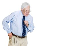 Greedy old man Stock Photos