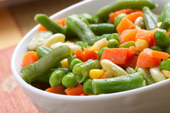 Greeen Bean salad Stock Image
