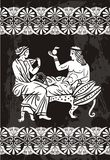 Greek. A nice designed greek vector Royalty Free Stock Images