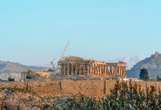 Greek Acropolis Stock Image