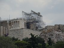 The renewing Acropolis. stock photography