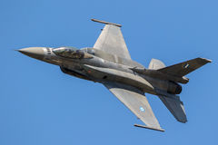 Greek Air Force F16 fighter jet stock images