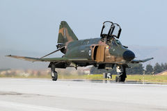 Greek Air Force F4 Phantom fighter jet aircraft Stock Images
