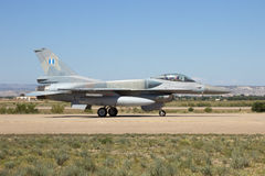 Greek Air Force F-16 Royalty Free Stock Photography