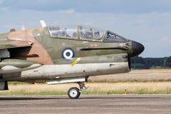 Greek airforce jet plane royalty free stock photos