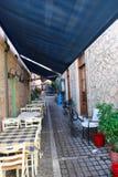 Greek Alley Royalty Free Stock Photos