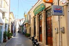 Greek Alley Royalty Free Stock Photo