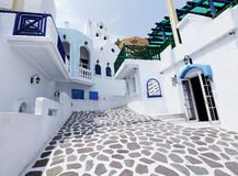 Greek alley Stock Image