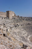 Greek amphitheater 2 Royalty Free Stock Photo