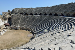 Greek Amphitheater, Side Royalty Free Stock Image