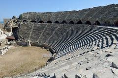 Greek Amphitheater, Side Royalty Free Stock Image