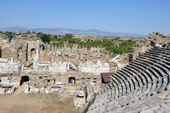Greek Amphitheater, Side Stock Photo