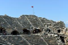 Greek Amphitheater, Side Stock Photography