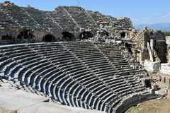 Greek Amphitheater, Side Stock Photos