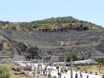 Greek amphitheater Royalty Free Stock Photography